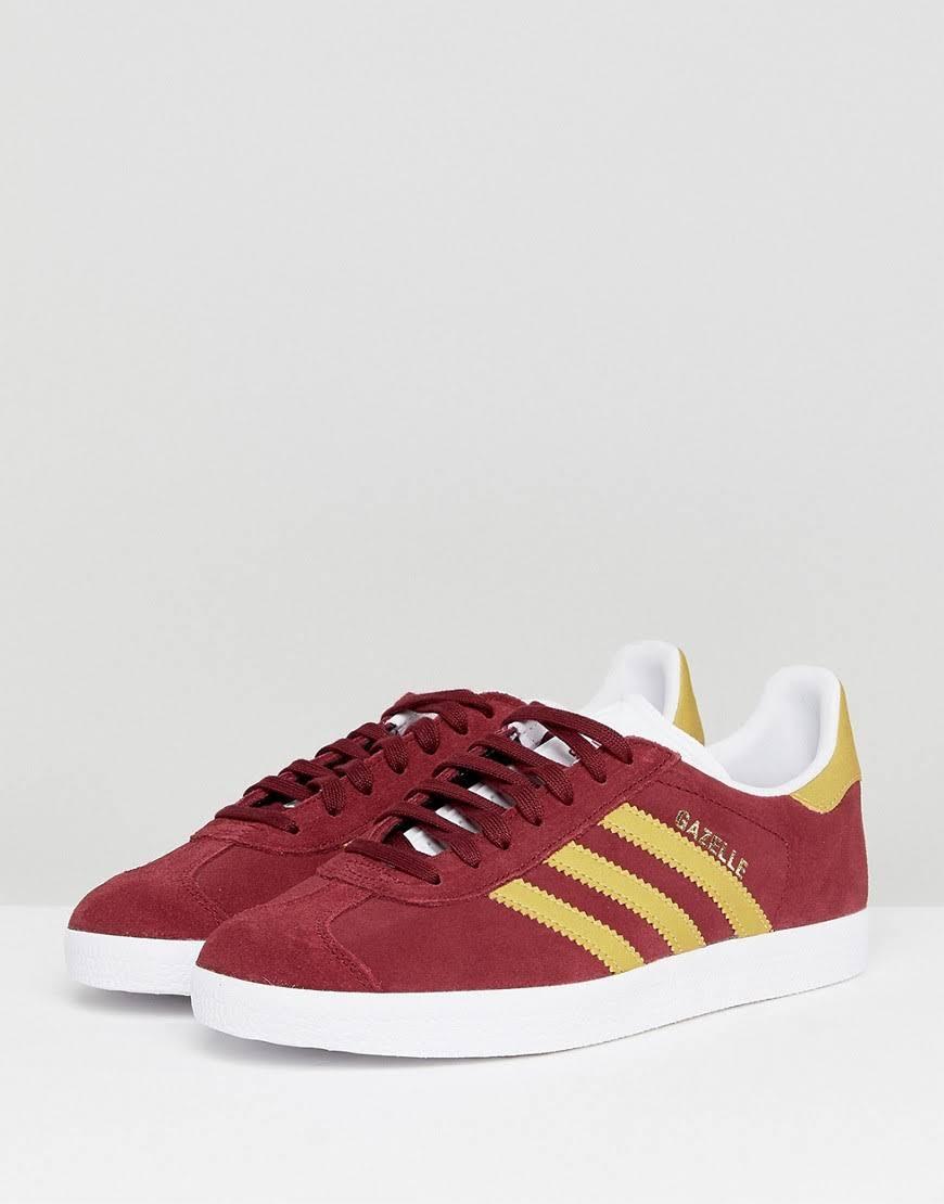 Collegiate turnschuhe burgund Adidas Originals Gazelle Aus Dem 4W4XOHa