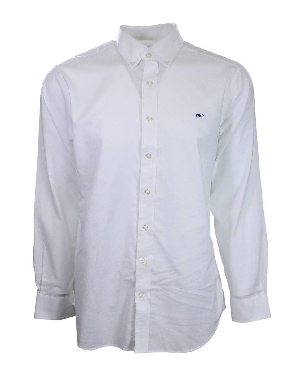 Ballena Vines Vineyard Color Fit Blanco En Slim Camisa Forma De qv5KA