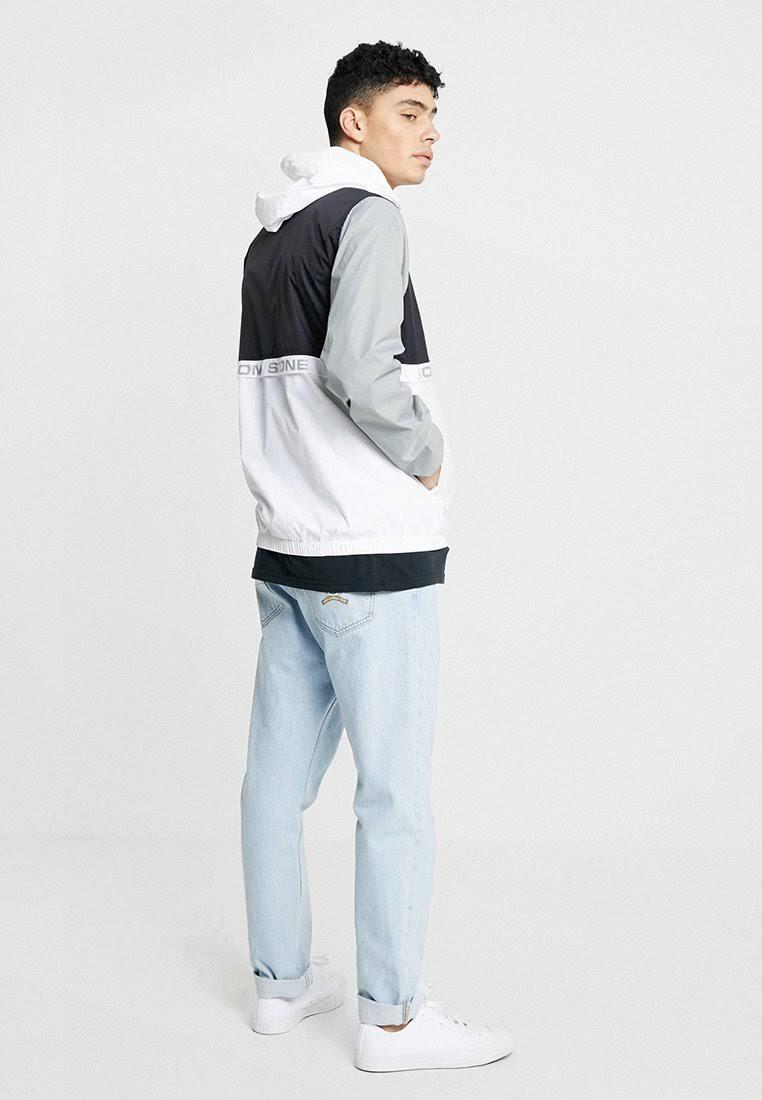Jacket Blanco Hombre Volcom Verano Ermont Tamaño De Pequeño Para Chaqueta qBxFIzawI