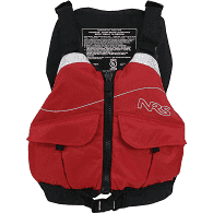 NRS Red Mesh Life Jacket