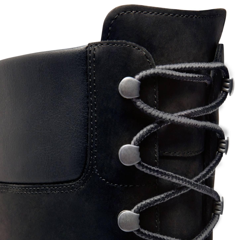 "8167r Women's 14"" Black Boot Wp Timberland Premium Nubuck Leather wI4xdIqv1"