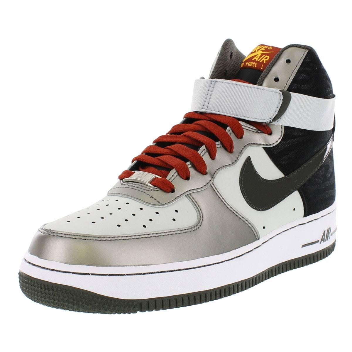 Gris 07 315121 Periódico Para Hombre Force 5 Gray 022 1 De Shoes Air Dusty Newsprint High Papel 9 Nike nIqZSn