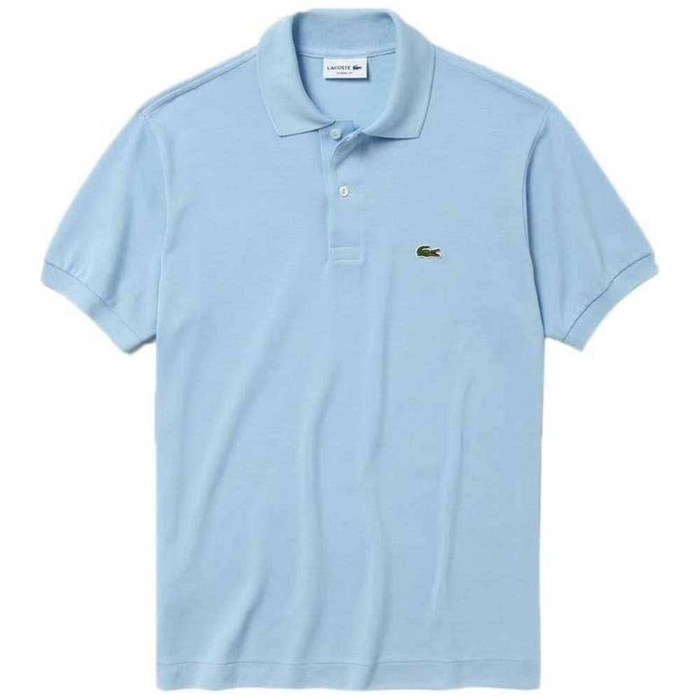 Manches Polo Bleu Courtes Stoneblue Lacoste wa5vqUXT