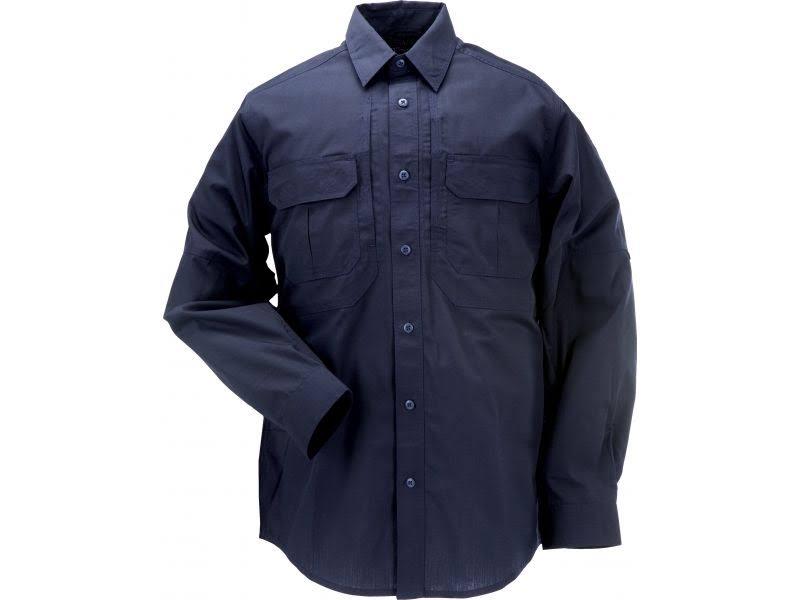 Marino Taclite Camisa Oscuro 11 Grande 5 72175 Tactical Azul Regular Larga De Manga RIzTS