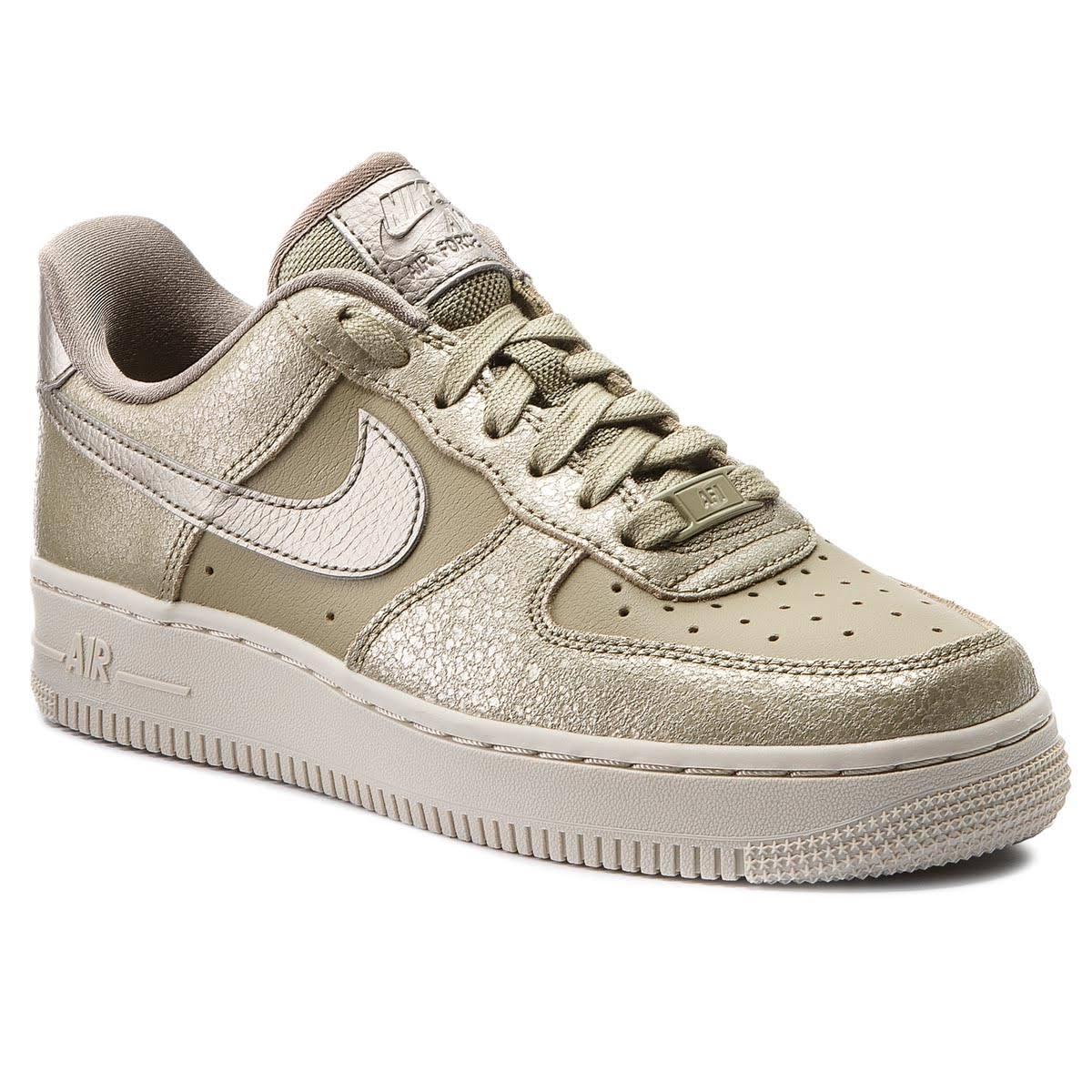 Sneaker Nike Gold Oliv Olive Neutral Schuhe Air Force '07 Olive Sportschuhe 1 Premium Beige 39 bronzed Braun Sneaker amp; Female gaOgwrq