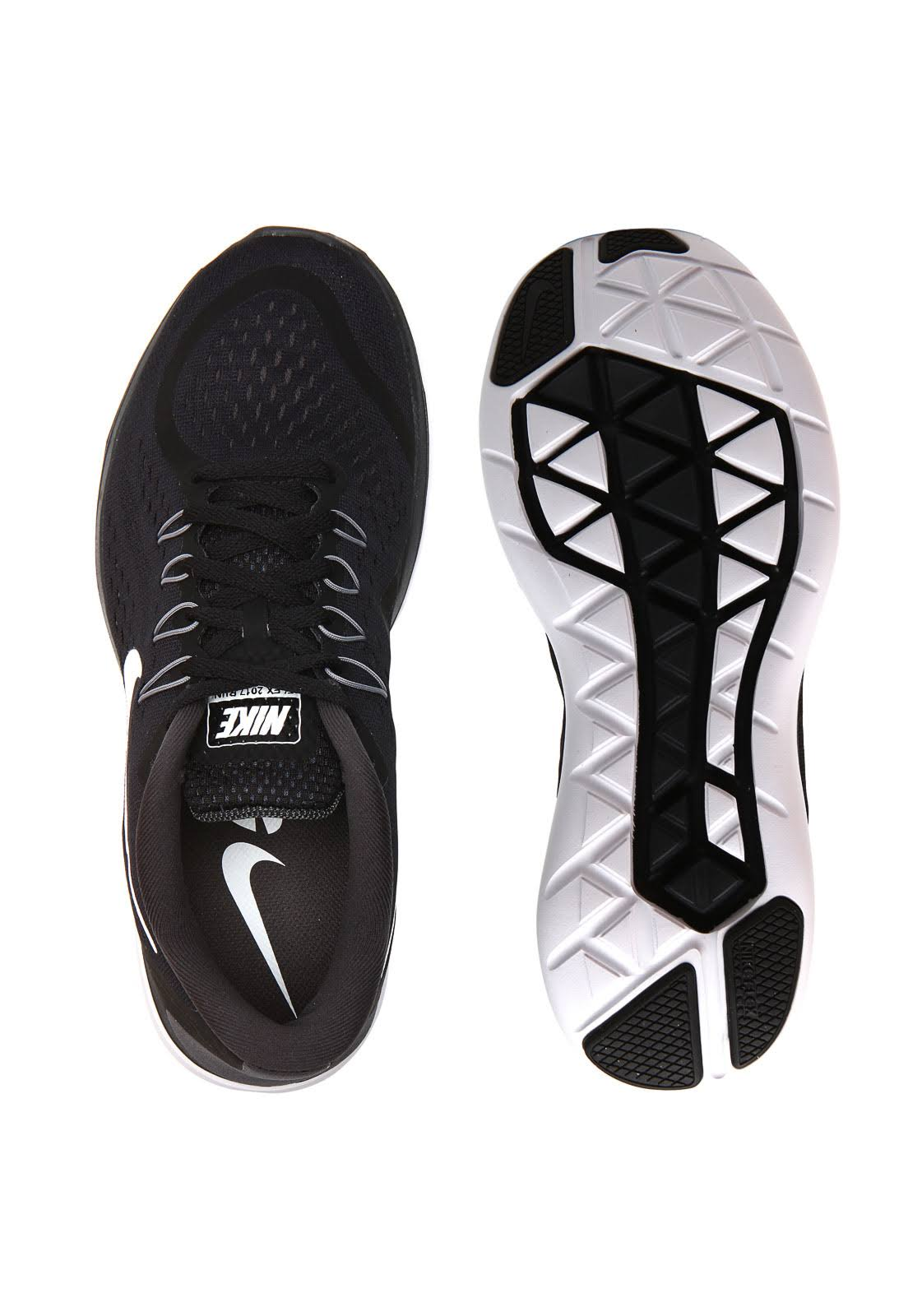 Nike Flex 2017 Rn NeroBianco Scarpe ED29WIH
