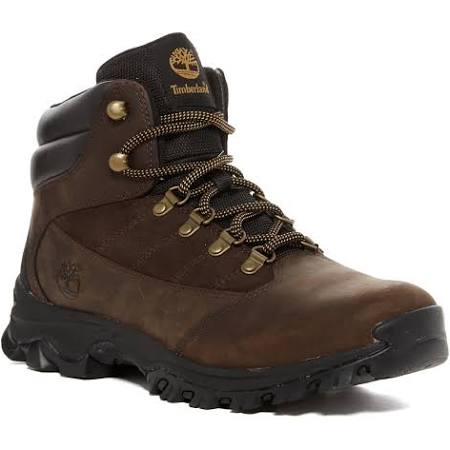 9 Timberland Mens 5 Hiking Boots Brown M Rangeley Leather 1RZgqURX