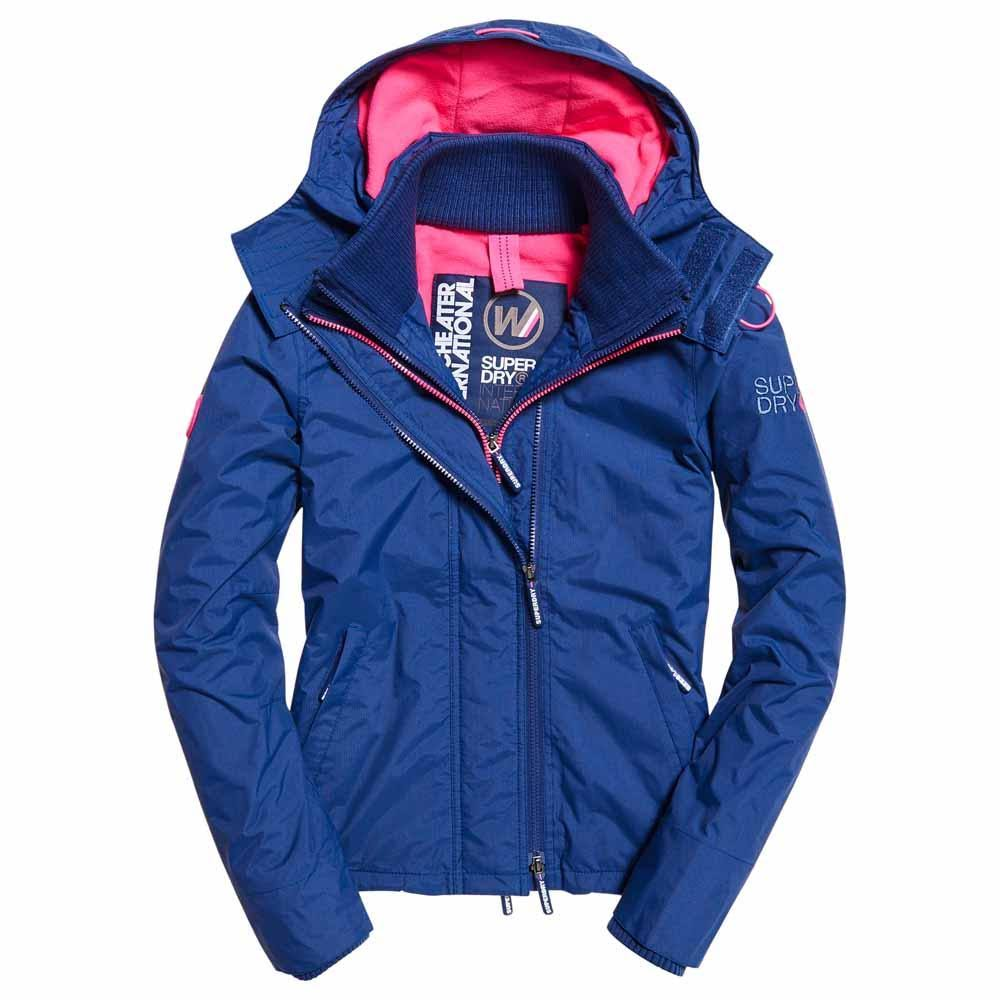 Windcheater Xs Arctic Superdry Truenavy Hooded Zip Neonpink Pop OqvwIg