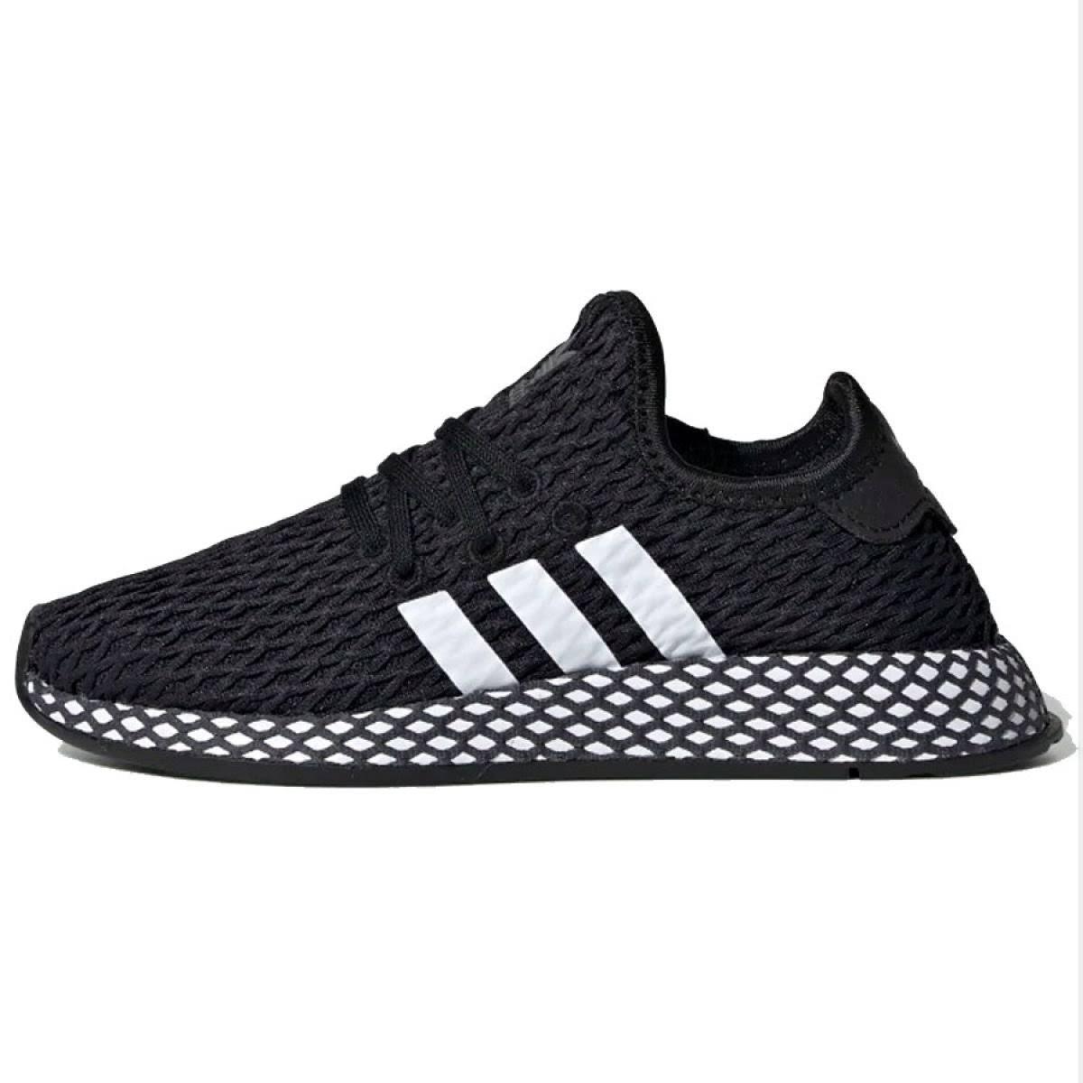 Adidas Deerupt Runner Shoes - Black - Kids