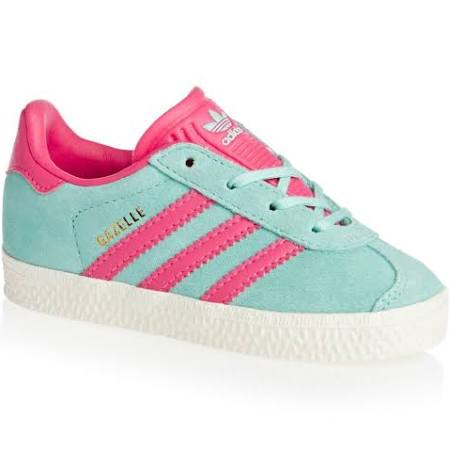 De Zapatillas Infants Gazelle Adidas Originals Deporte Aqua Pink And qwHTU0Y