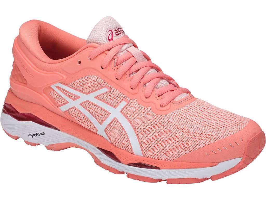Asics Gel Pink Running Mujer 24 De Seashell Begonia kayano White Para T799n Zapatillas qwC4Et