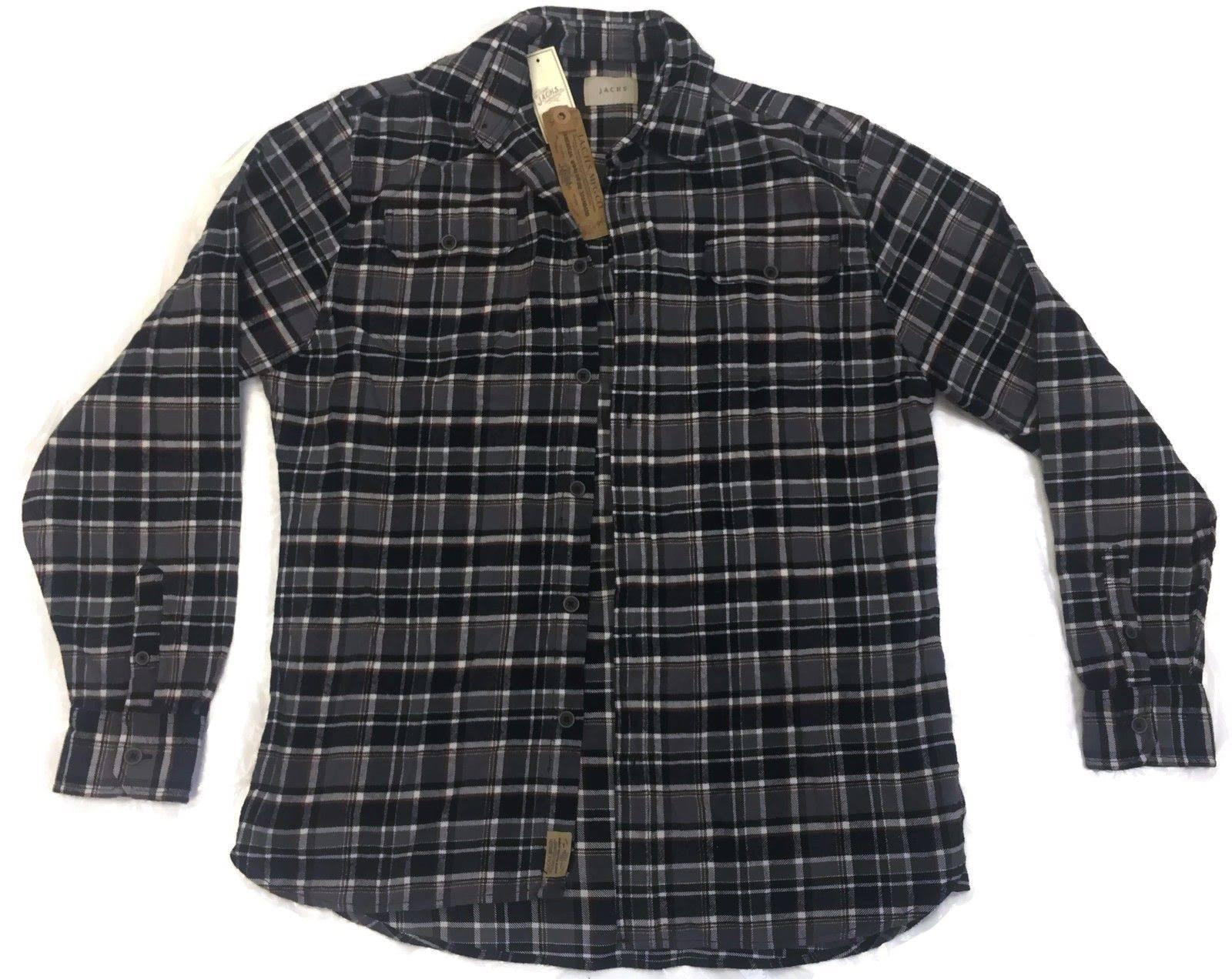 Men Shirt Flanell Baumwolle Jachs Brawny 9oz 100 dw1YUx8q
