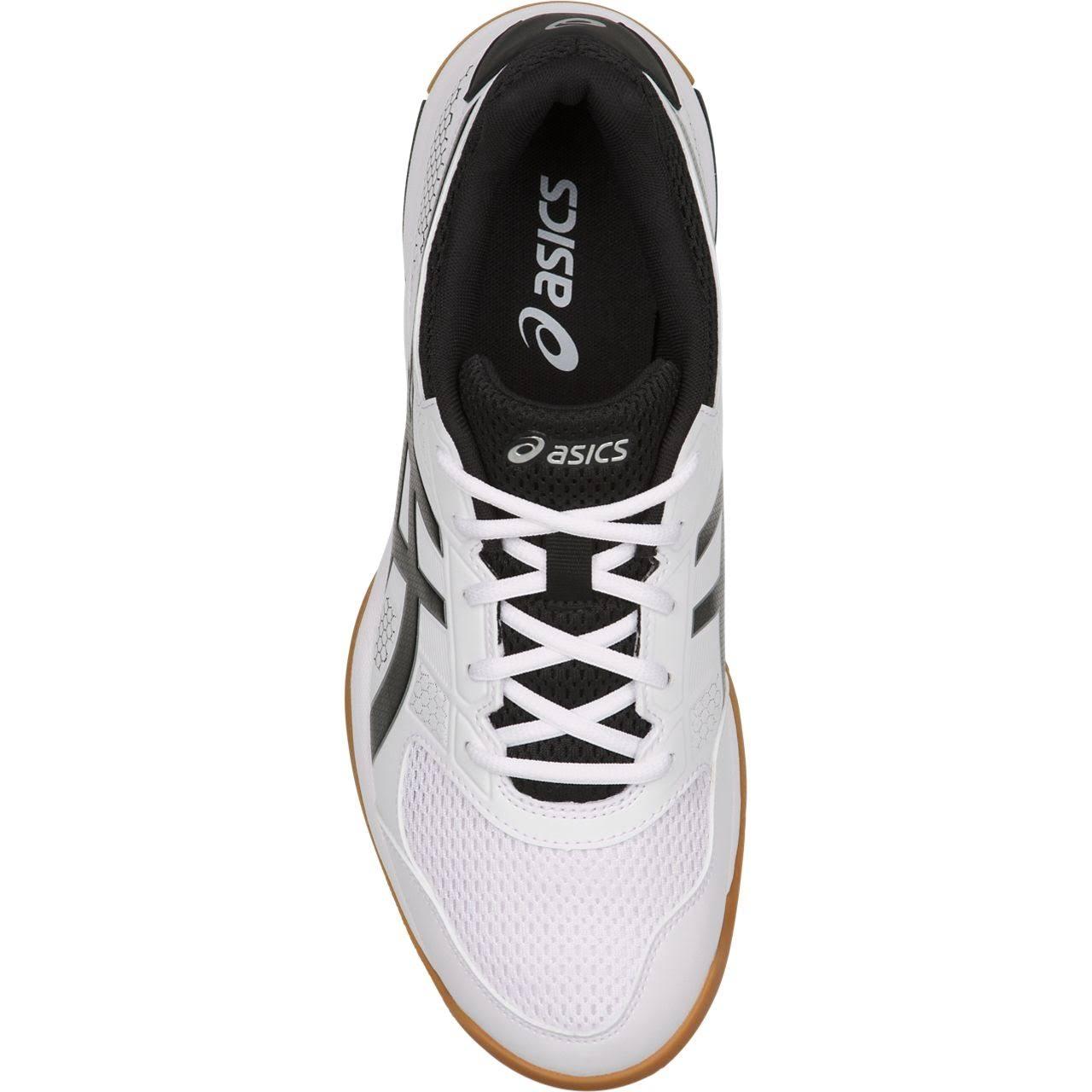 Weiß Asics 8 rakete Und Silber Schwarz B706y Schuhe 0190s18 Herren Gel Für BqBw7Y
