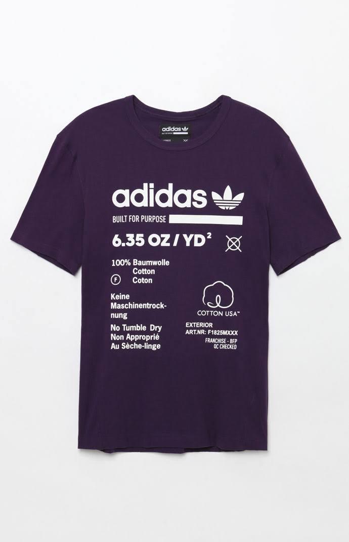 Purple Originals By Adidas Talla púrpura Camiseta Kaval S 0S51Aqw