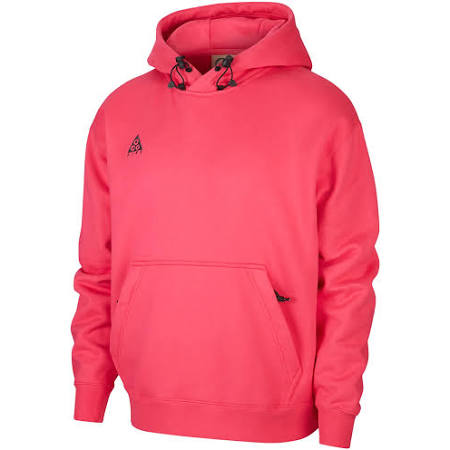 Nike ACG Pullover Hooded Sweatshirt (Rush Pink/Anthracite) from Consortium