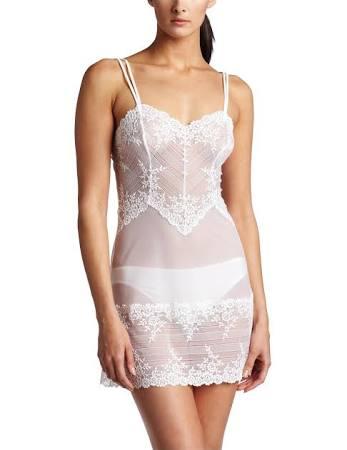 Lace Wacoal Weiß Köstliches Weiß Embrace L Chemise rr50xCq