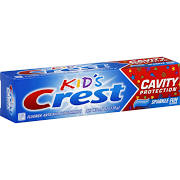 Crest Kids Cavity Protection Sparkle Fun Flavor Toothpaste - 4.6 oz