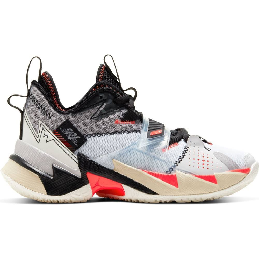 Jordan Why Not Zer0.3 White Bright Crimson Black (GS)