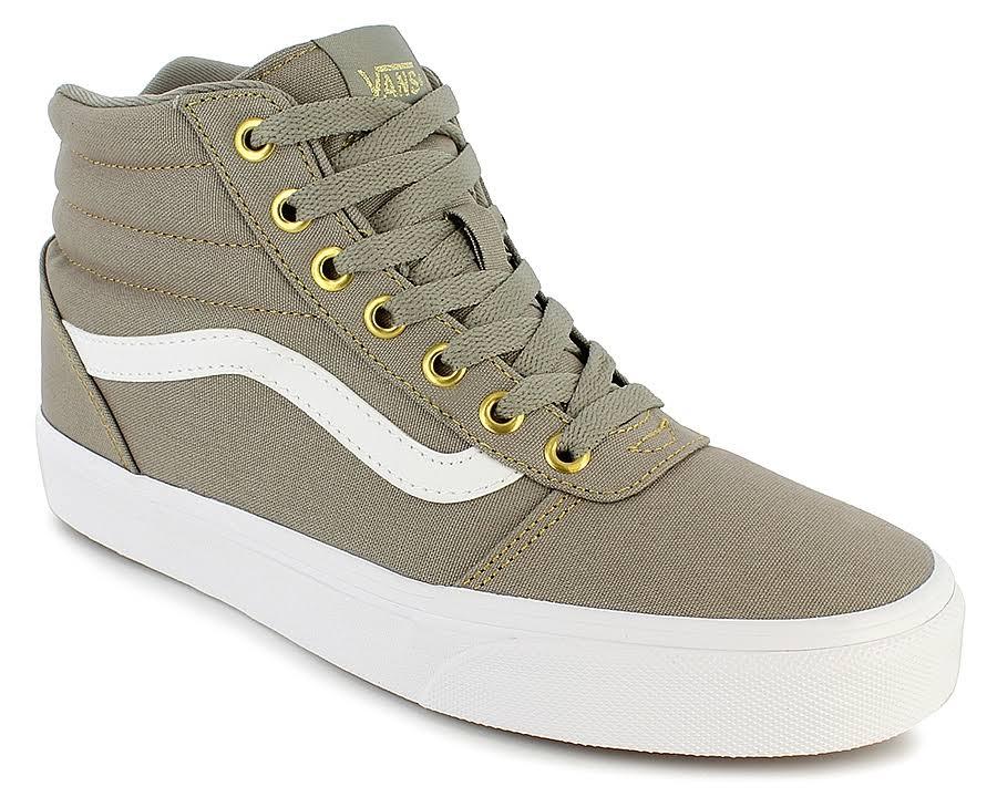 Aluminio Skate Lona Zapatillas Mujer Ward 7 Medias Para Hi Vans De 4070q86a