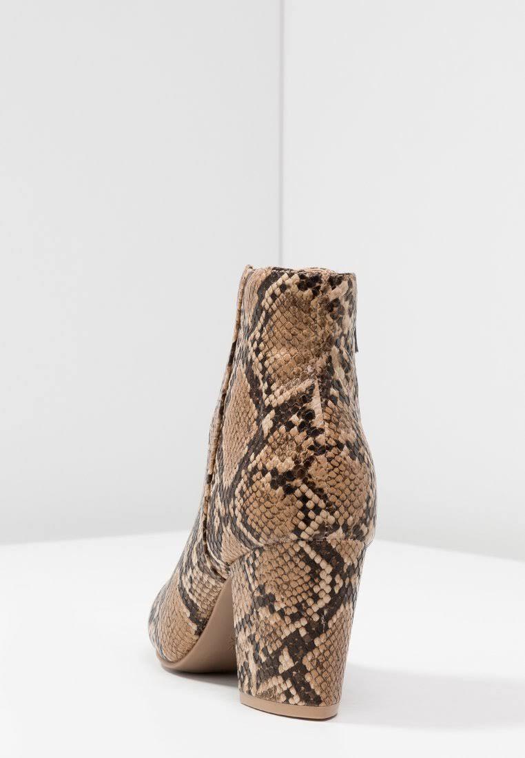 Nieuw uiterlijk Heel In Snake Block Boot Print FJK1Tlc