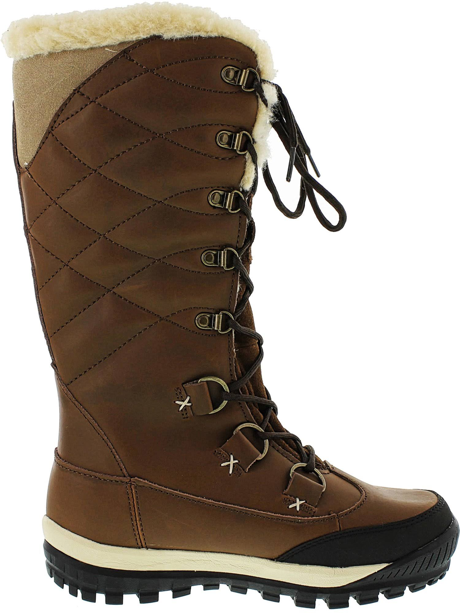 Bearpaw Isabella Genuine Lined Lace up Boot Sheepskin rrzOdpwxq