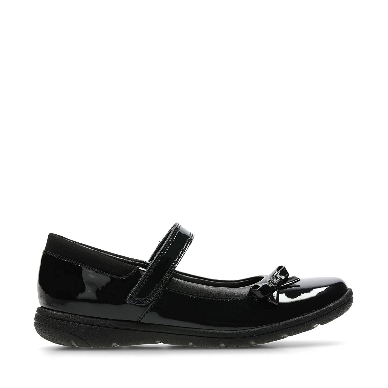 Patent Star Kids 3491 58h Jn School Clarks Black Shoes Venture nZ0ON8PkXw