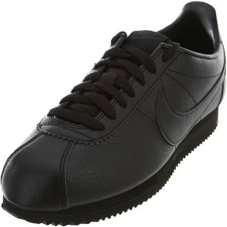 Classic 9 Black 5 Nike Black Leather 749571 Cortez 002 anthracite dIwq8zfxw