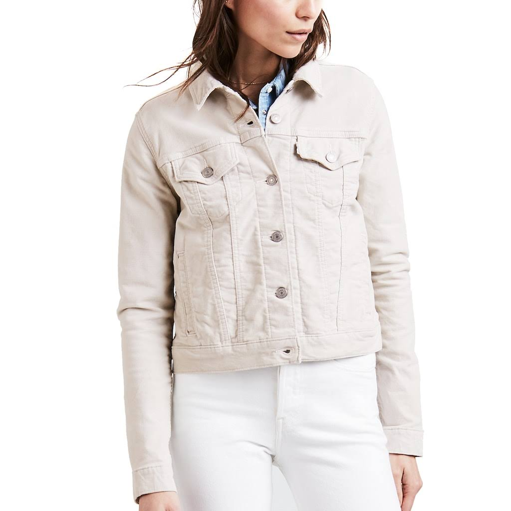 Jacket Grey Levis S Macy's Für Original Denim Trucker BwWqx7RS