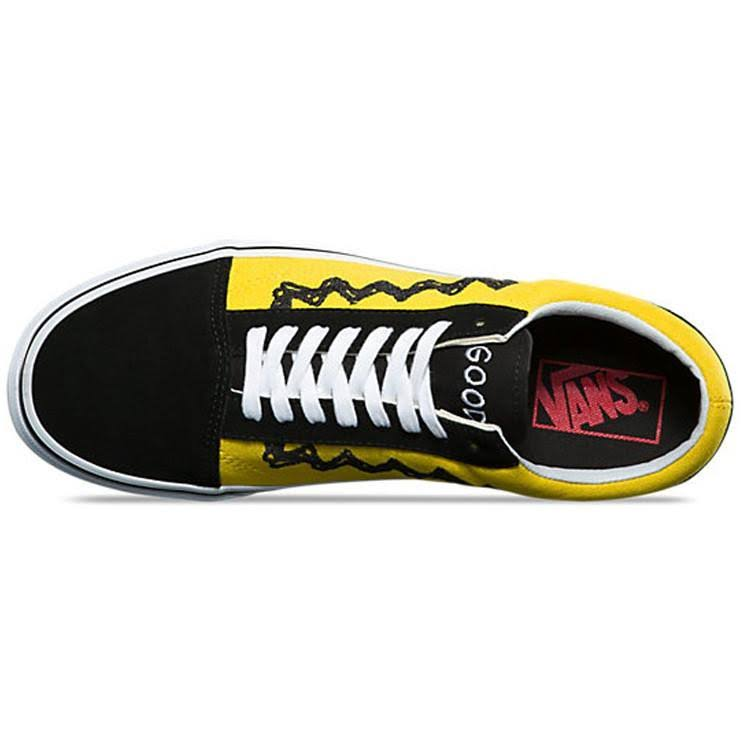 Peanuts Charlie Schule Vn0a38g1ohj 7086 Alte Vans Brown 1OnpxTOU