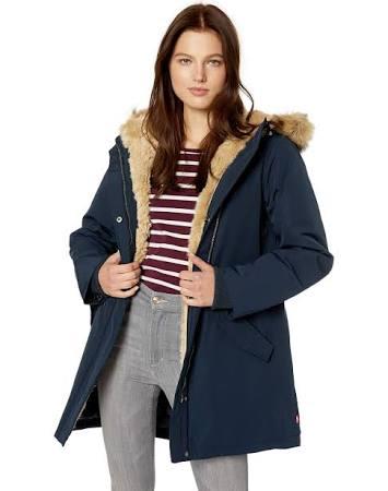 S Arctic Faux De Parka fur fur Levi's Cloth park Azul qOwxzIxEF