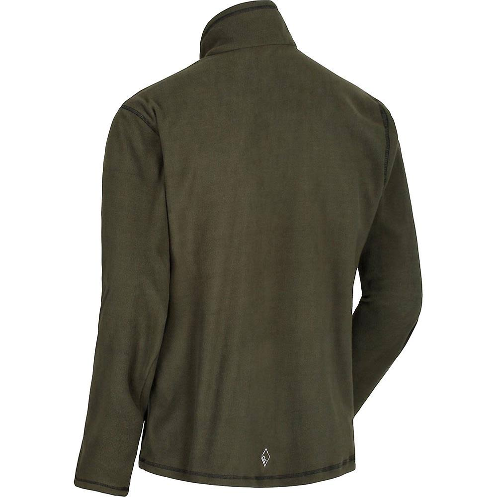 Dark Zip Fleece Khaki Half Darkkhaki Regatta Thompson Ligero wqISSEX