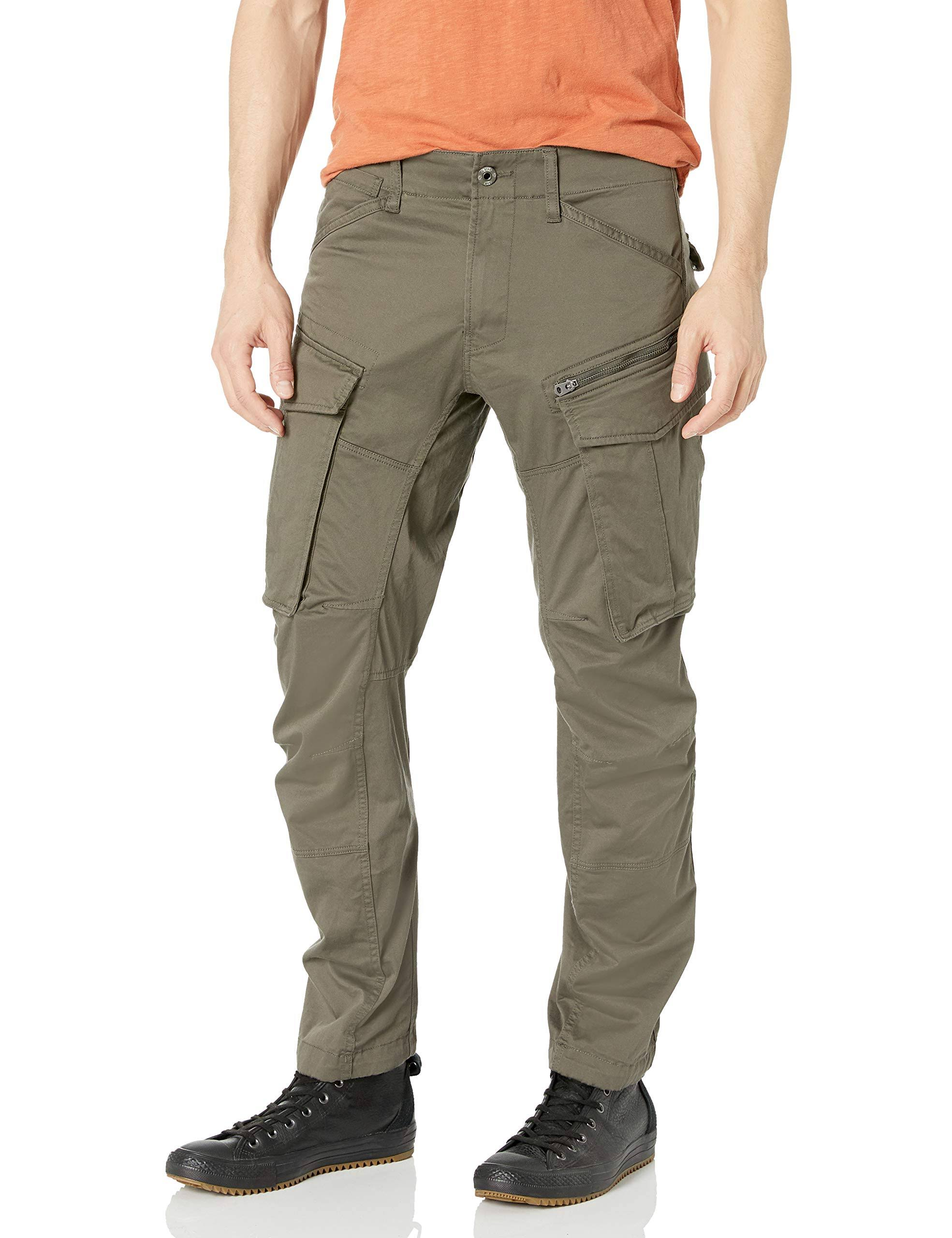 G-Star Raw Men's Rovic Zip 3D Straight Tapered Trousers