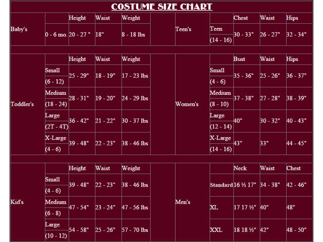 De Un Disfraces Imitación Tamaño Cuero Traje Impresión Hombre Underwraps Cabo qExpA88w