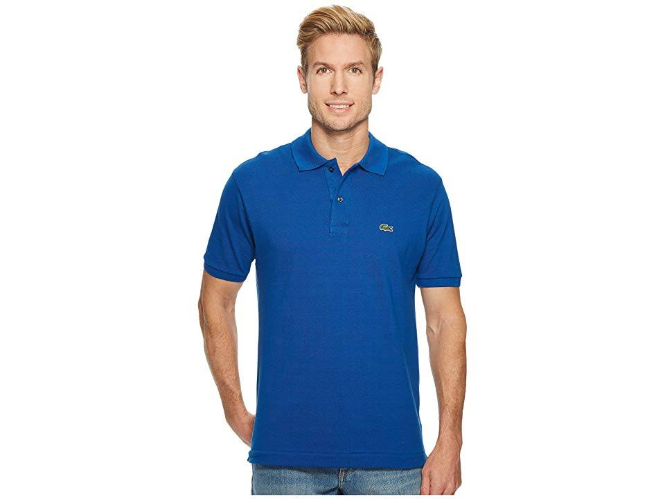 Blau Pique Classic Poloshirt 12 12 L Lacoste M qfYdH5g