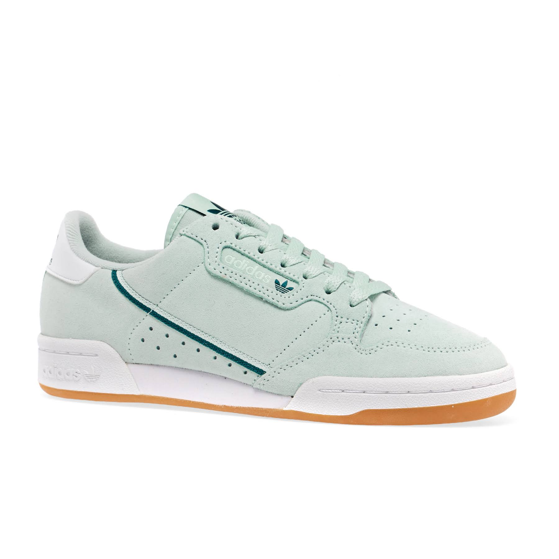 Adidas Continental 80 Shoes - Green - Women