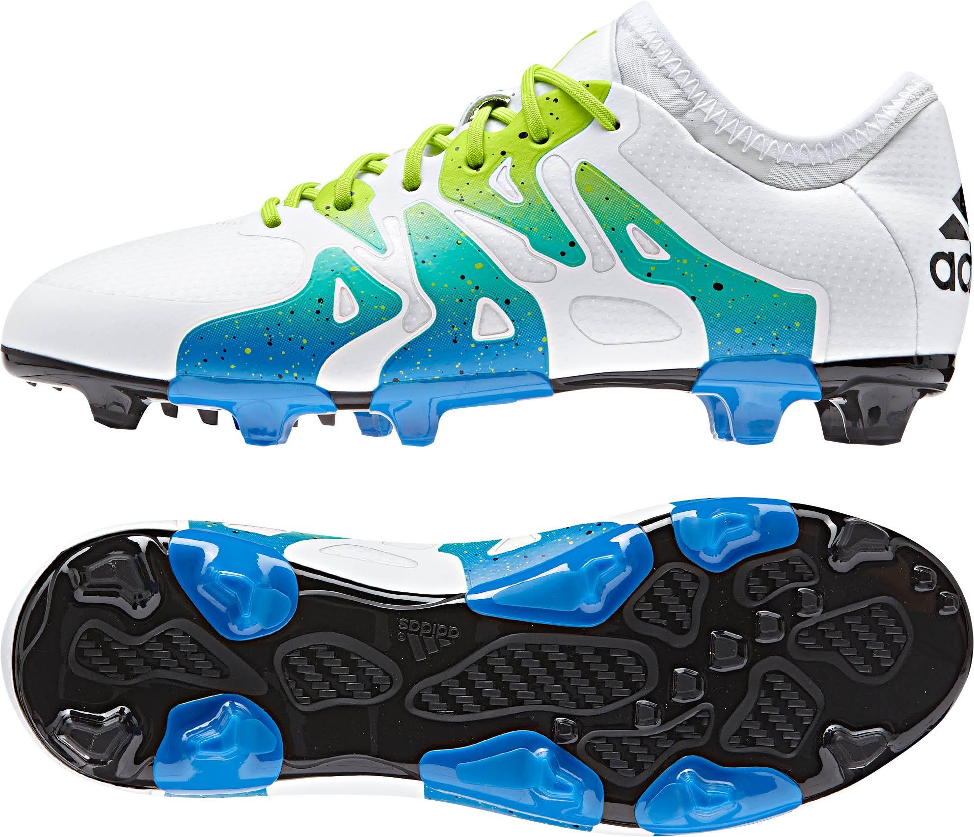 Adidas Firme Ag 1 Para Botas X Junior Fútbol Suelo Blanco De 15 RncnZSEw