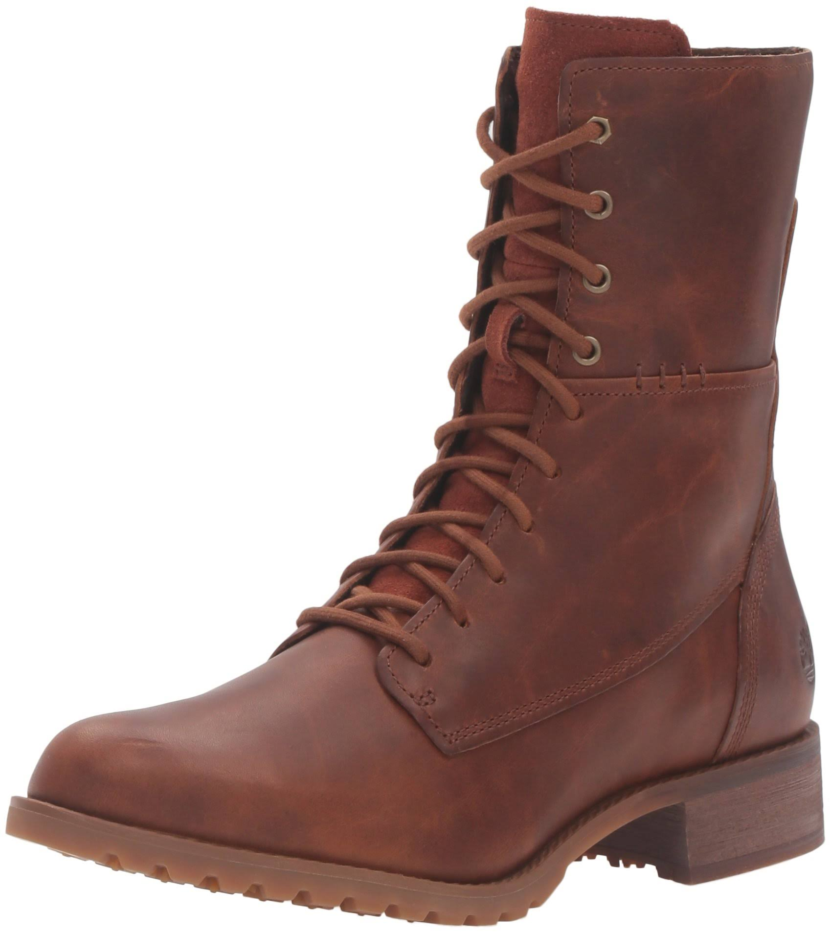 Lace Womens W Boot Mid Timberland 6 Wheat Banfield Brown xwHBEE
