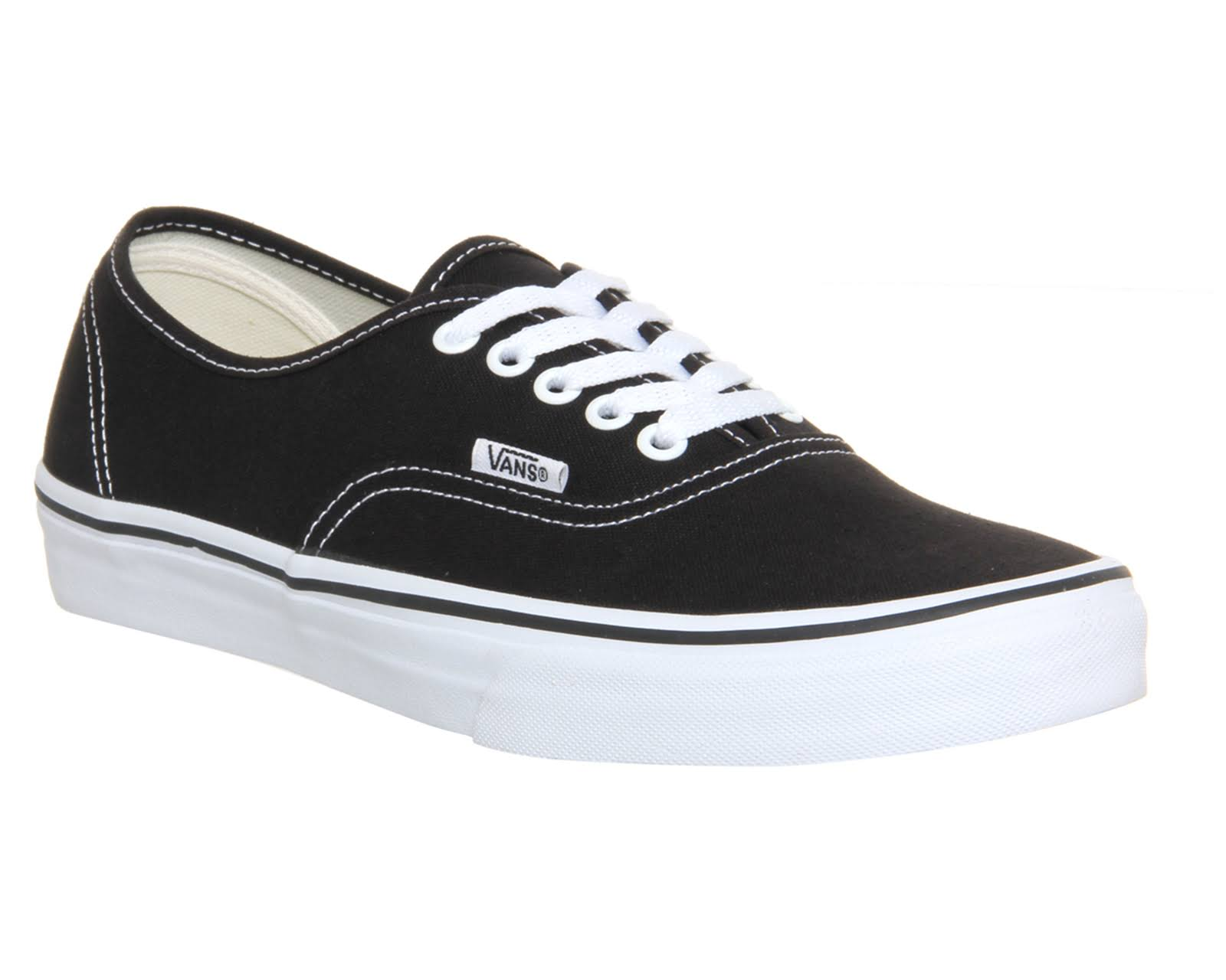 Authentic Shoes Black Blanco Negro Vans zdwFqSd