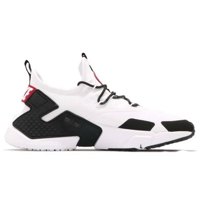 Nike Huarache Zapatillas Para Gimnasio 8 Hombre blanco Tamaño Air Blanco negro Drift Rojo 5 qEqrBd