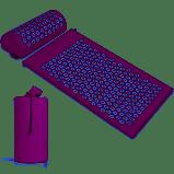 KEBY Tappetino Agopressione Massaggio Yoga Fitness Cuscino Set Cuscinetti digitopressione High Pulse Pad e Borsa