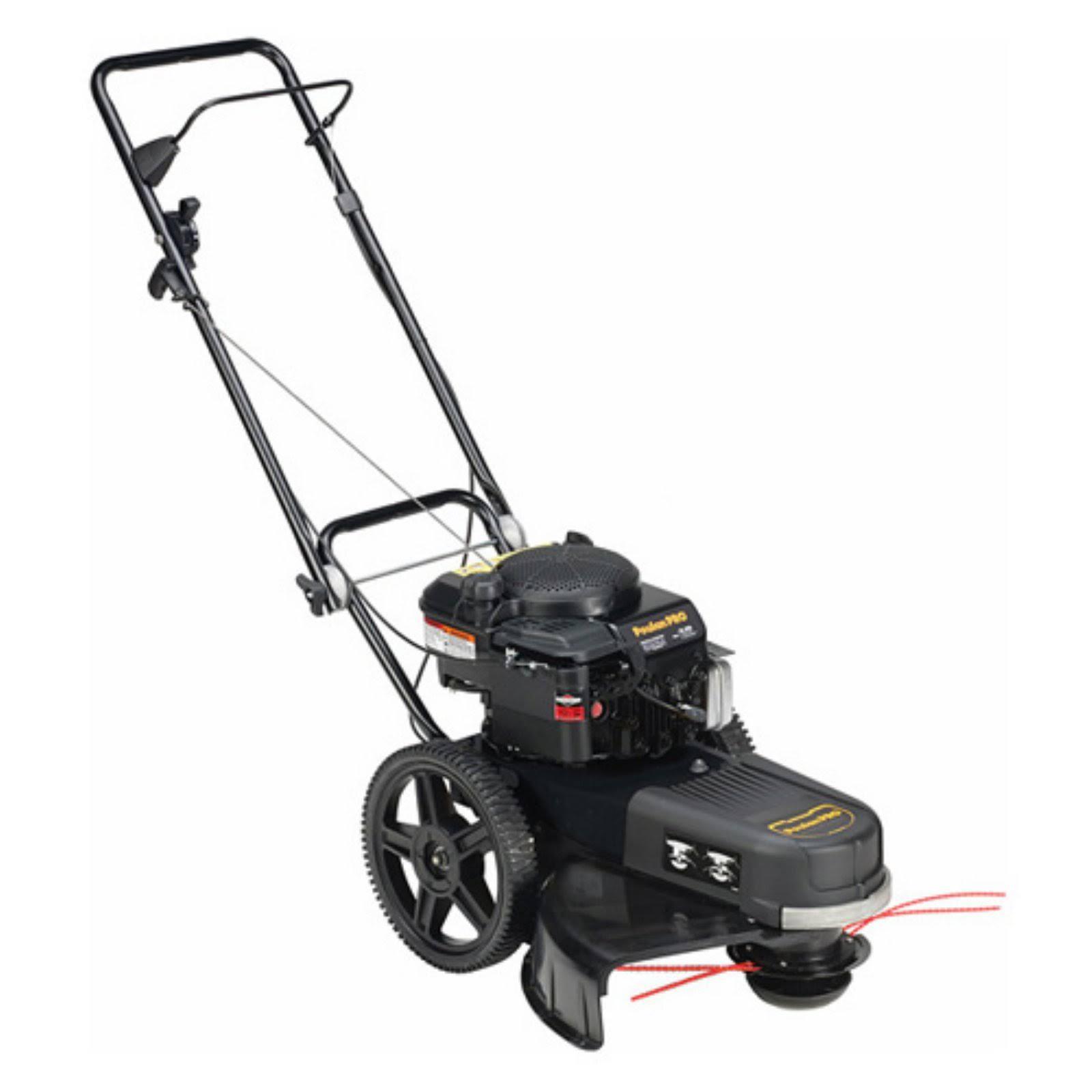 Poulan Pro 22 in. 190cc Gas High-Wheel Lawn Trimmer PR22WT