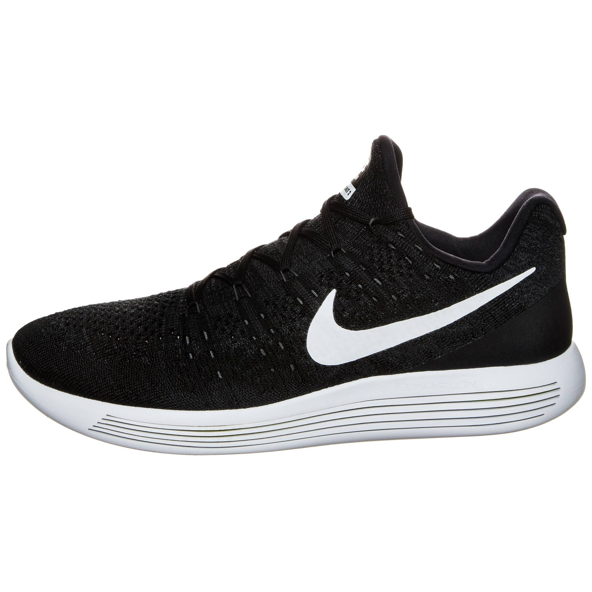 Sneakers Nike Mens 2 white Trainers Lunarepic anthracite Low Flyknit 863779 Running Black A1O7q