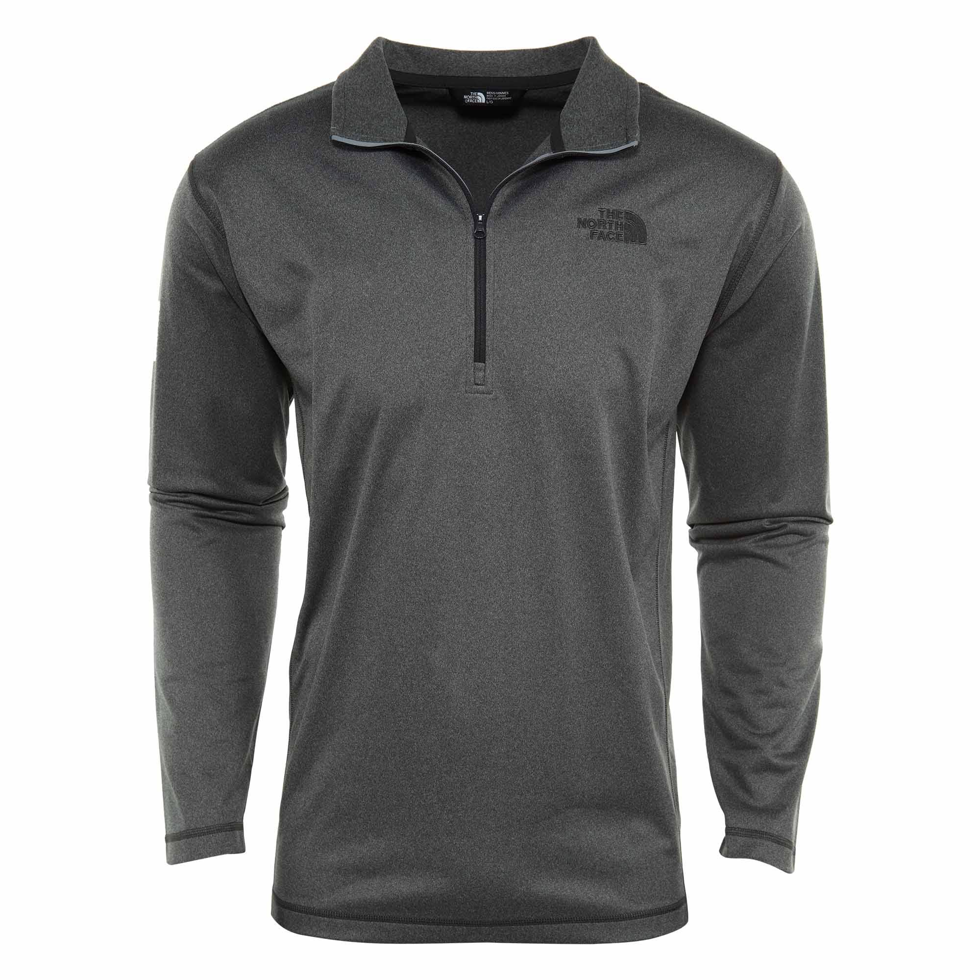 Medio Glacier 4 Zip Gris The Hombre Tech L Face 1 North Heather Tnf qXx4vZT