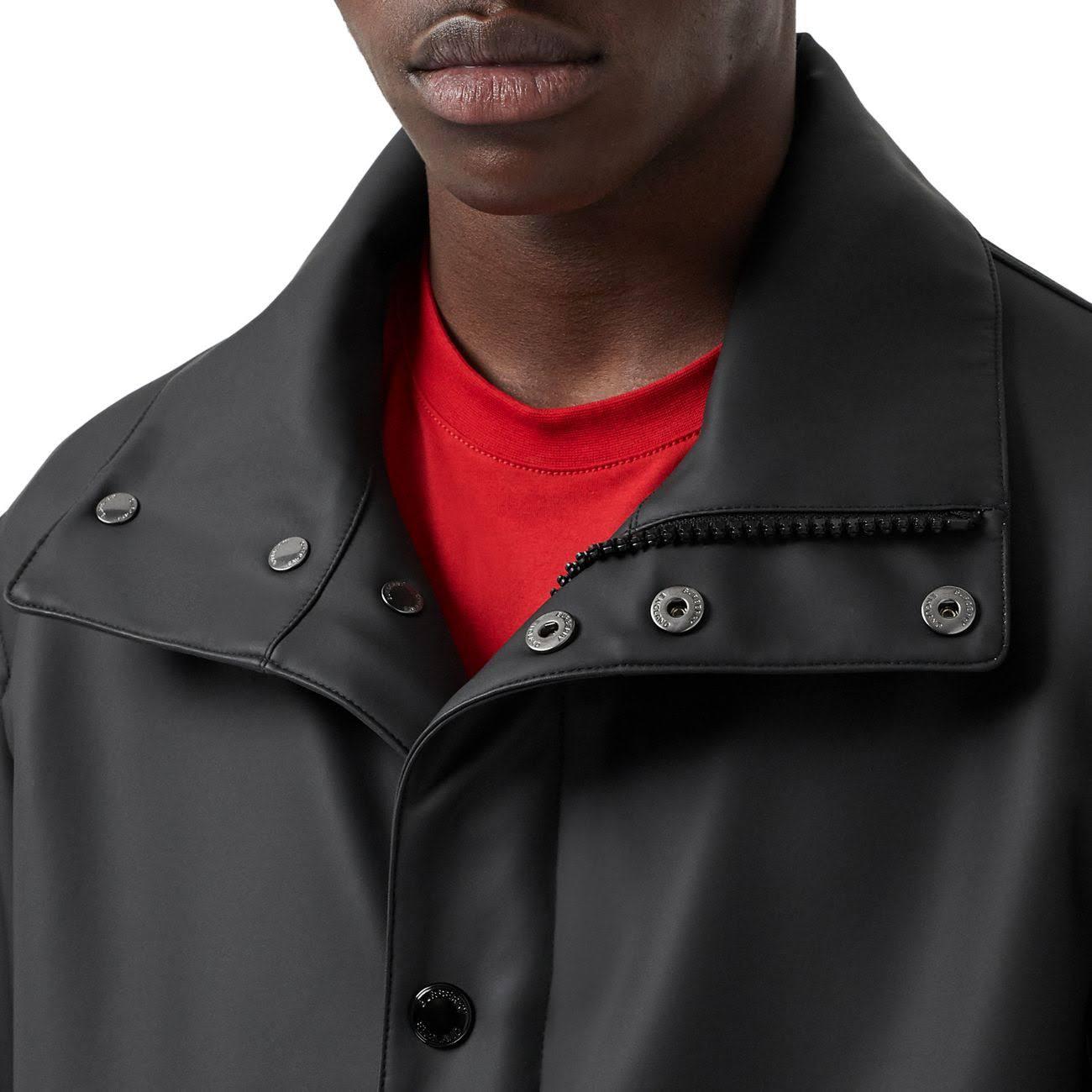 Talla Capucha Para Burberry Con Hombre 44 Logo Negro De Escudo YqZxw8Uw