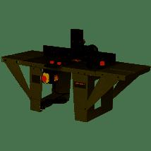 Promac - Table de défonceuse 2,7kW 230V - JRT-2
