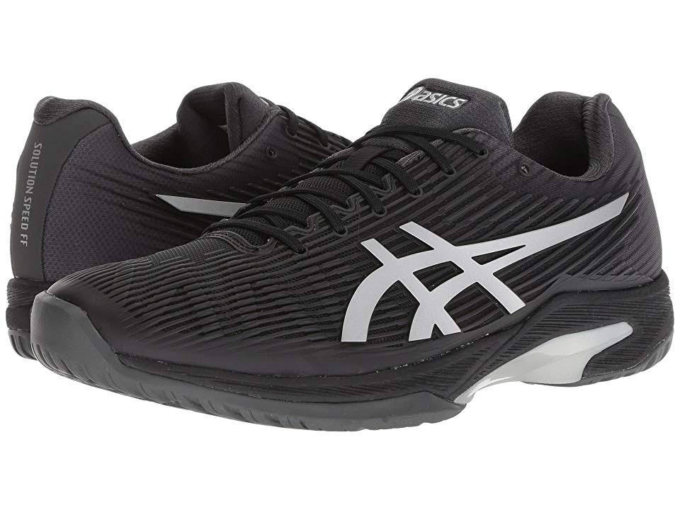 8 Men's silver Asics Black Shoes 1041a003 001 Tennis Ff Solution Speed wH7xqHS6