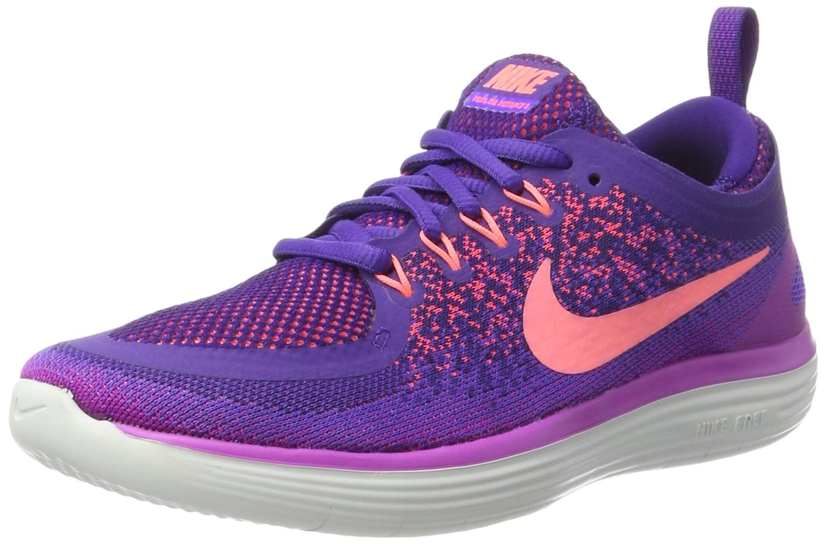 Run Grape 2 hyper Purple Purple Glow court Damen Nike Free Violett 39 Eu lava Distance Laufschuhe Tq8T1cEw