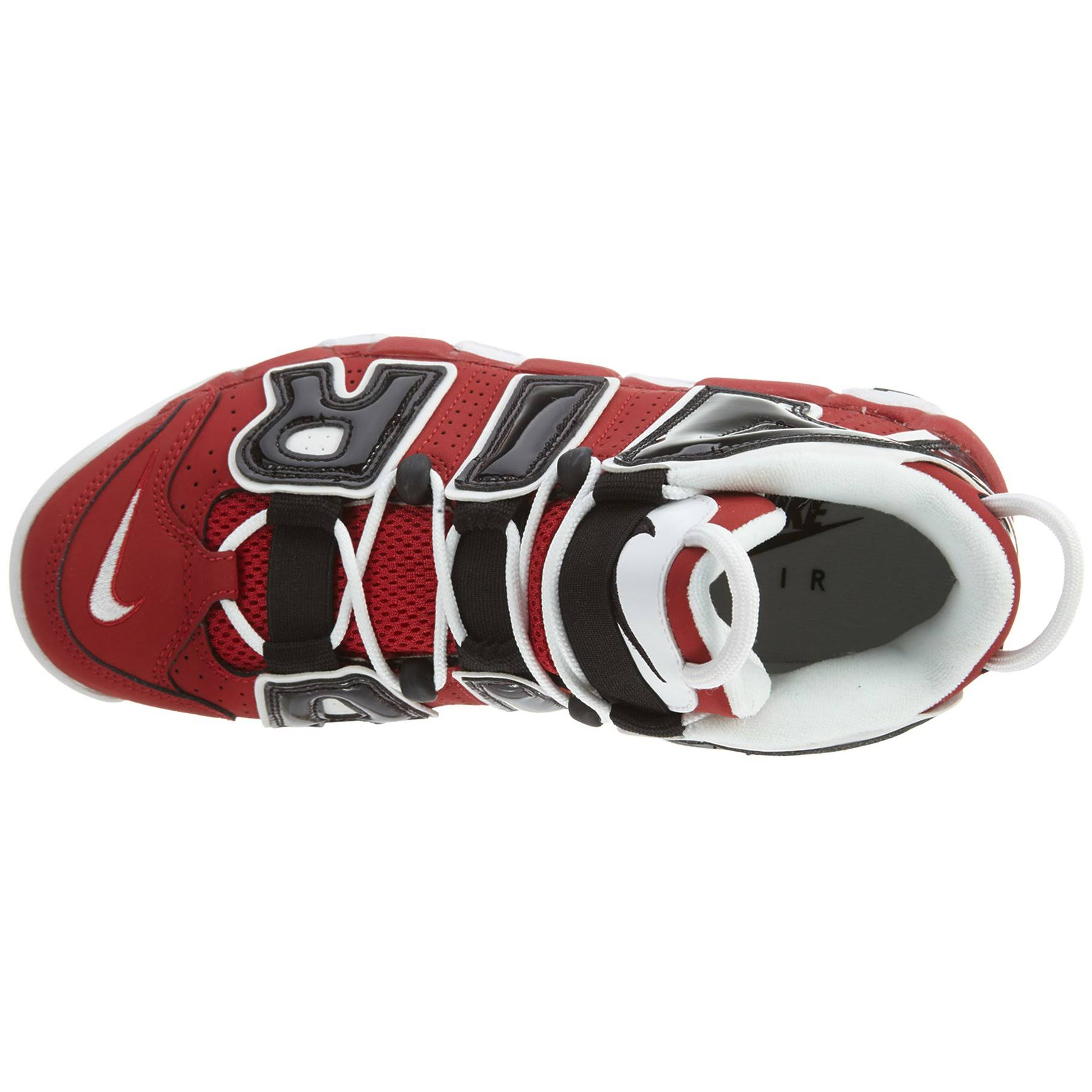 'bulls' Negro Hombre Tamaño Blanco 8 Air Uptempo More Varsity 5 Para Nike De Deporte Rojo Zapatillas cRFTwyYZY