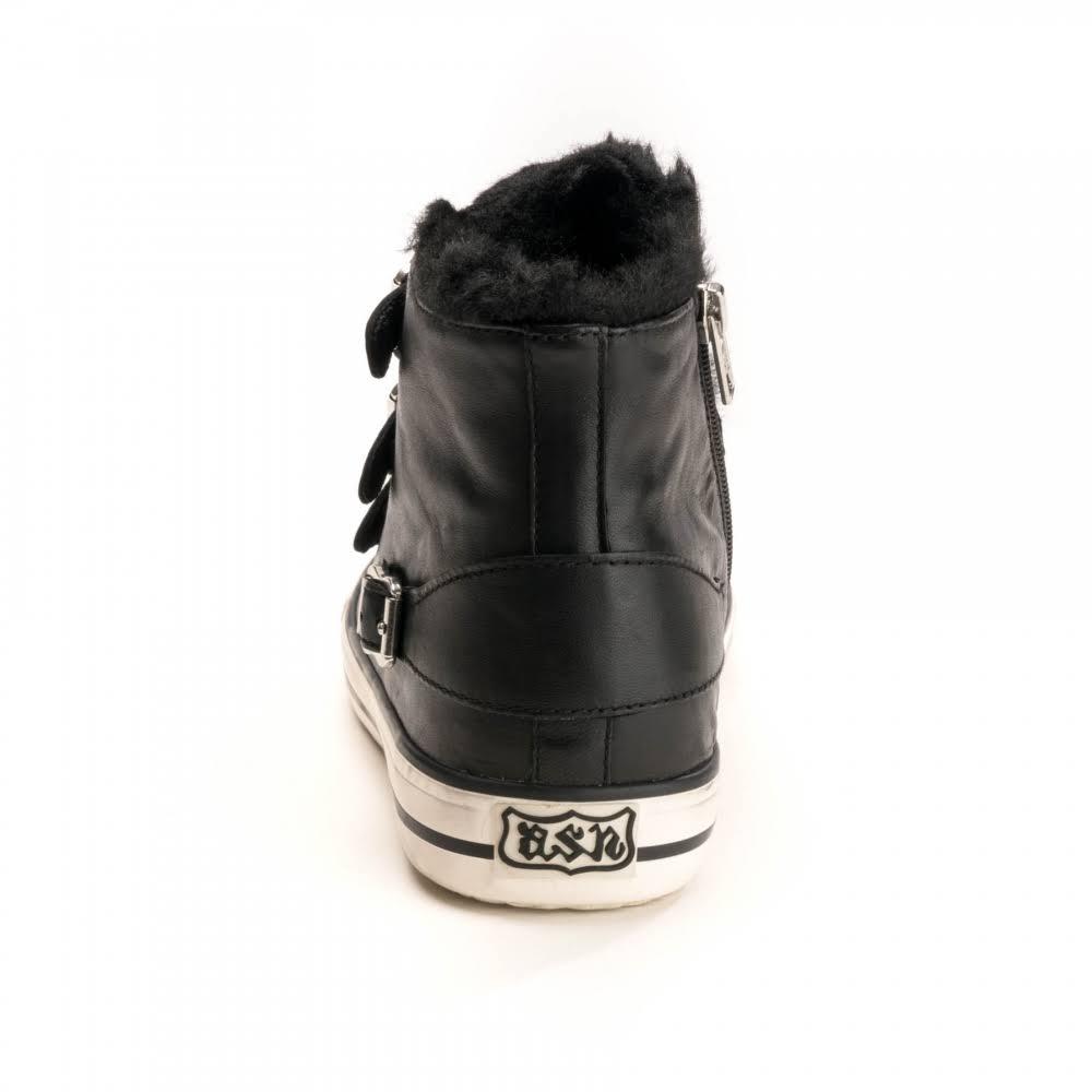 Fur Faux Valco Womens Ash Black EIH9YWD2