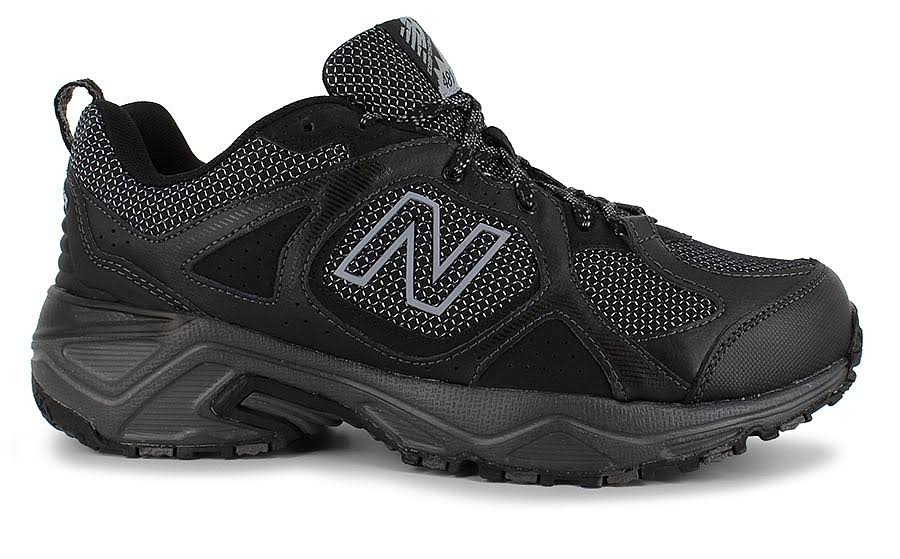 Hombre Para Zapatillas De Negras Negras Y Running Trail New Plateadas 481v3 Balance Cushioning f41qwRf
